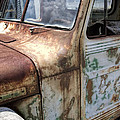 Rusty Classic Willy's Jeep Pickup by Kathy Clark