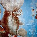 Rusty Door Abstract by Brothers Beerens