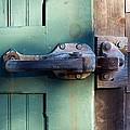 Rusty Door Latch by Stuart Litoff