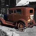 Rusty Ford by Richard J Cassato