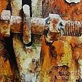 Rusty Gate by Dragica  Micki Fortuna