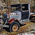 Rusty Model Aa Ford by Paul Mashburn