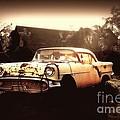 Rusty Oldsmobile by Beth Ferris Sale