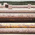 Rusty Pipes by Tom Gowanlock