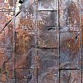Rusty Plate Door 2 by Anita Burgermeister