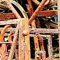 Rusty Railings by Carol Groenen