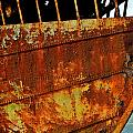 Rusty Remains Of An Old Boat by Kirsten Giving