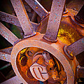 Rusty Spokes by Inge Johnsson