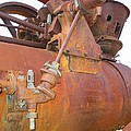 Rusty Steam Tractor by Ron Holl
