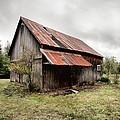 Rusty Tin Roof Barn by Gary Heller