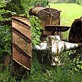 Rusty Tractor 1  by Joyce  Wasser