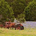 Rusty Tractor by John Johnson