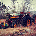 Rusty Tractor by Zinvolle Art
