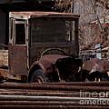 Rusty Truck   #1049 by J L Woody Wooden