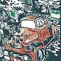 Rusty Truck by Richard Mangino