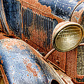 Rusty Vintage Automobile by Olivier Le Queinec