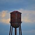 Rusty Watertower by Tara Potts