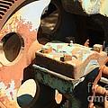 Rusty Wheel Gear by Carol Groenen