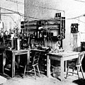Rutherford's Cavendish Laboratory by Emilio Segre Visual Archives/american Institute Of Physics/science Photo Library