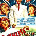 Ruthless, Us Poster, Zachary Scott by Everett