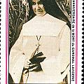 Rwanda Stamp by Vladimir Berrio Lemm