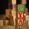 Ryan - Alphabet Blocks by Edward Fielding