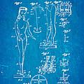 Ryan Barbie Doll Patent Art 1961 Blueprint by Ian Monk