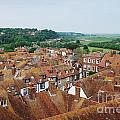 Rye Town Roofs by David Fowler