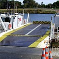 Ryer And Grand Island Ferry by Mary Deal