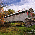 Ryot Covered Bridge by Timothy Flanigan