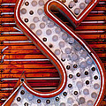 S In Lights by Art Block Collections