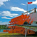S S Klondike On Yukon River In Whitehorse-yt by Ruth Hager