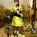 Sa Majeste La Parisienne by Alfred Stevens