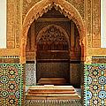 Saadian Tombs, Medina, Marrakesh by Jochen Schlenker / Robertharding