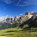 Saas Pordoi And Fassa Valley by Antonio Scarpi