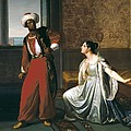 Sabatelli, Gaetano 1842-1893. Otello by Everett