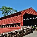 Sachs Covered Bridge 2 by Scenic Sights By Tara