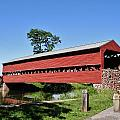 Sachs Covered Bridge by Scenic Sights By Tara
