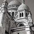 Sacre Coeur Architecture  by Olivier Le Queinec