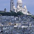 Sacre - Coeur Basilica by Doug Davidson