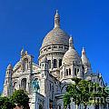 Sacre Coeur Basilica by Olivier Le Queinec