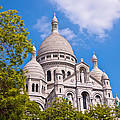 Sacre Coeur Basilica Paris France by Jon Berghoff