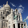 Sacre Coeur Paris by Gary Eason