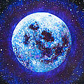 Sacred Feminine Blue Moon by Shelley Irish