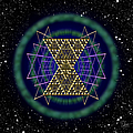 Sacred Geometry 181 by Endre Balogh