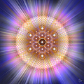 Sacred Geometry 185 Number 2 by Endre Balogh