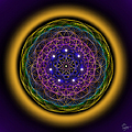 Sacred Geometry 202 by Endre Balogh