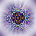 Sacred Geometry 245 by Endre Balogh