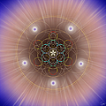Sacred Geometry 260 by Endre Balogh