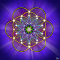 Sacred Geometry 3 by Endre Balogh